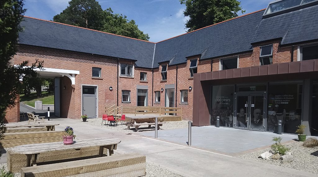 Benburb Priory Courtyard photoCropped