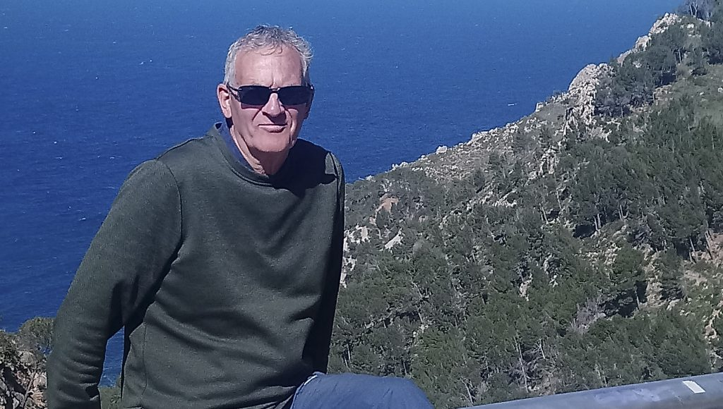 Brian blue skies Majorca photoweb