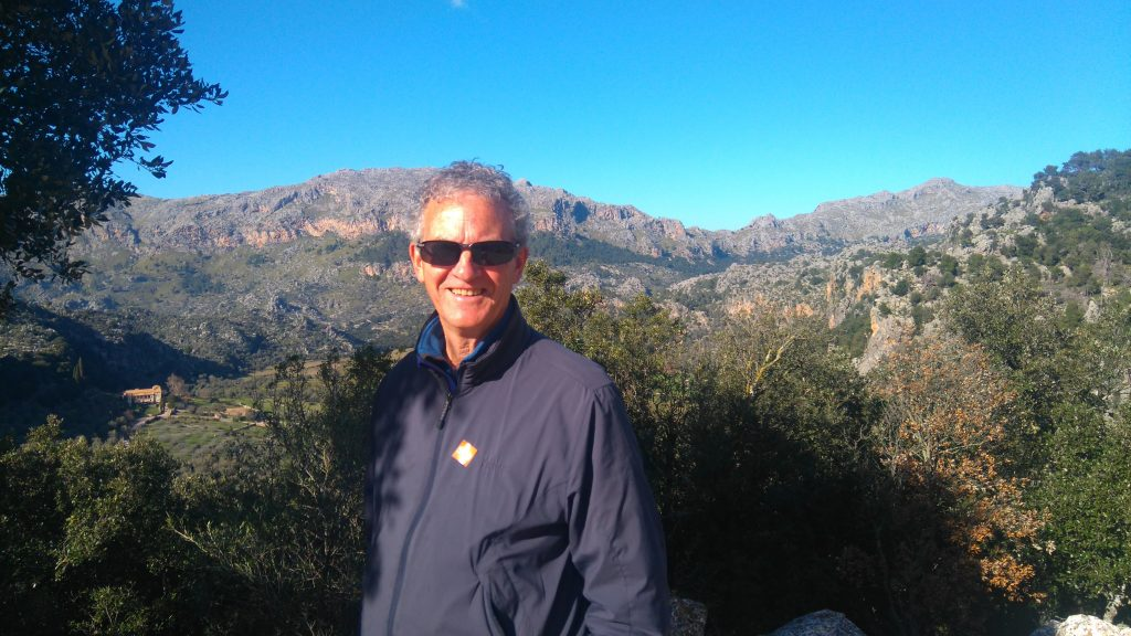 Brian photo Majorca mountains
